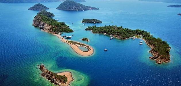 جزيرة فتحية في تركيا