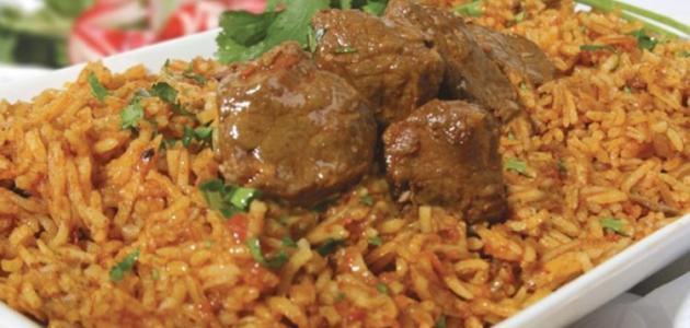 طريقة كبسة اللحم السعودية