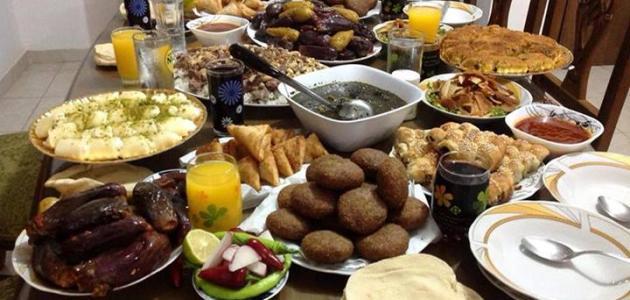 مقبول عاء لوح اكلات سفرة رمضان Virelaine Org