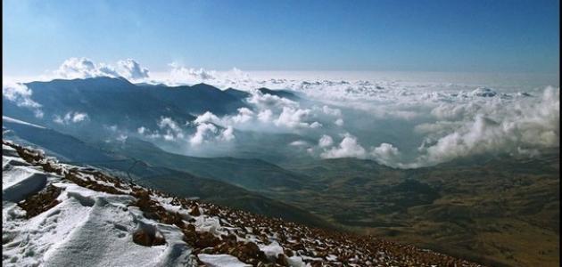 سلسلة جبال لبنان الشرقية