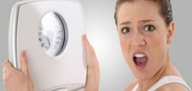 حل مشكلة ثبات الوزن