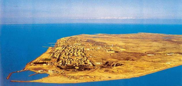 عدد الجزر في الكويت