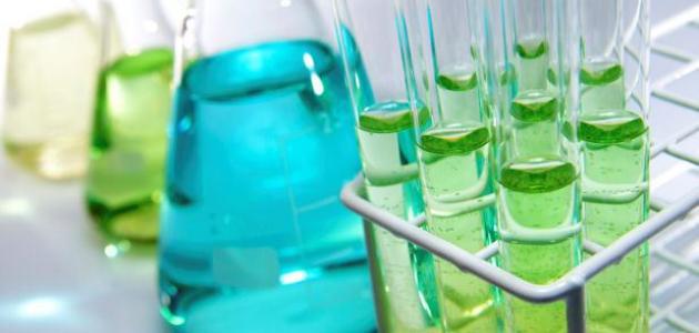 الخواص الكيميائية للمادة