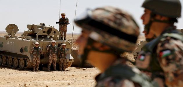 عدد أفراد الجيش الأردني