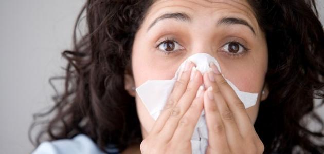 بحث حول مرض الزكام