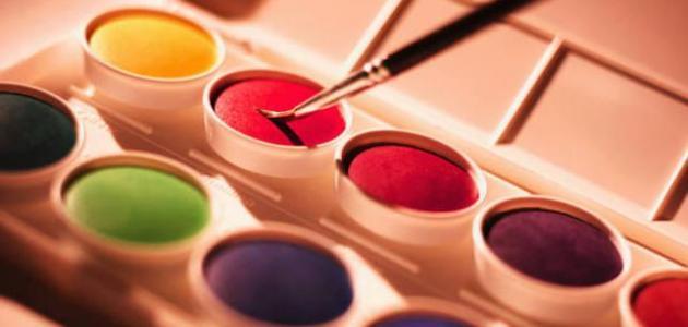 كيف تصنع الألوان