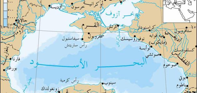 كم عدد الدول التي يحدها البحر الأسود