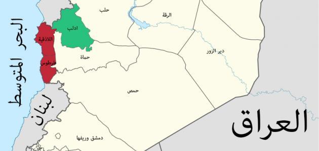 مساحة مدينة دمشق