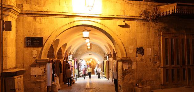 مساحة مدينة حلب