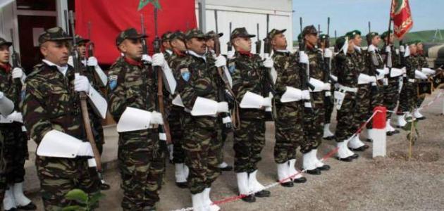 عدد الجيش المغربي