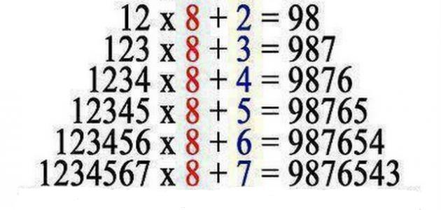طريقة ضرب الأعداد الكبيرة موضوع