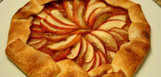 طريقة عمل فطيرة التفاح الأمريكية