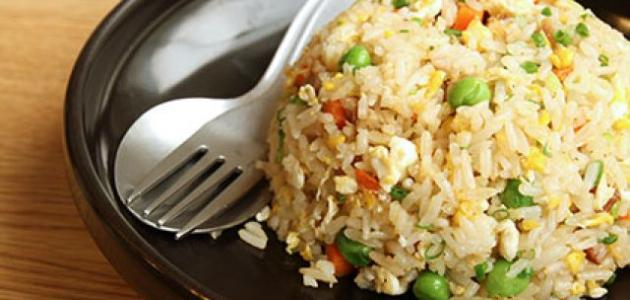 طريقة الأرز بالخضار