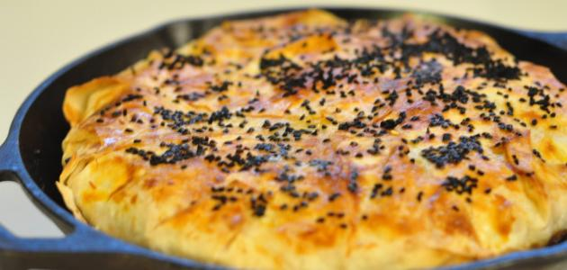 طريقة البوريك بالجبنة