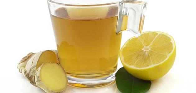طريقة عمل الزنجبيل والليمون