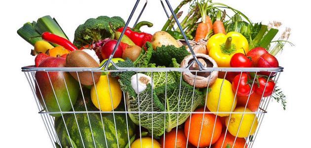 مكونات الغذاء الصحي