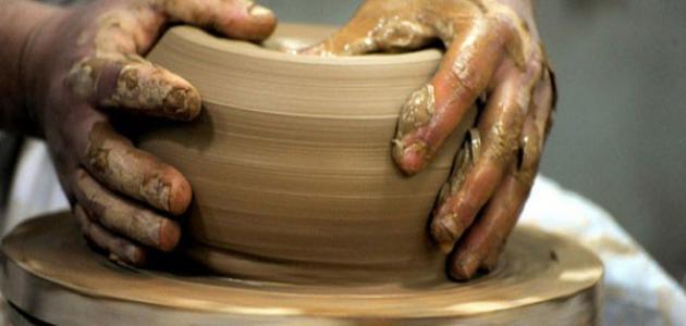 موضوع عن صناعة الفخار