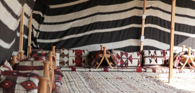 ماذا يطلق على المكان الذي يسكنه البدو