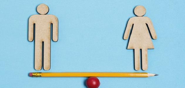 مفهوم المساواة بين الرجل والمرأة