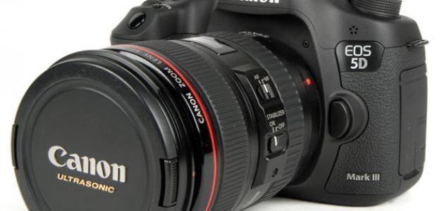 أنواع كاميرات كانون