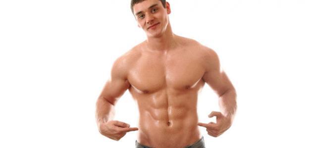 تمارين تقسيم عضلات البطن في أسبوع
