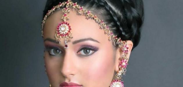 وصفات شعر هندية