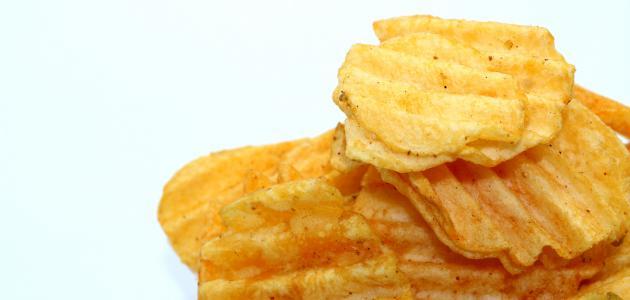 كيف اجعل البطاطس مقرمشة