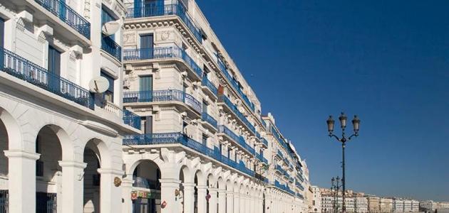 وصف مدينة الجزائر