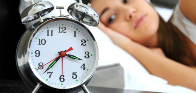 أسباب صعوبة النوم