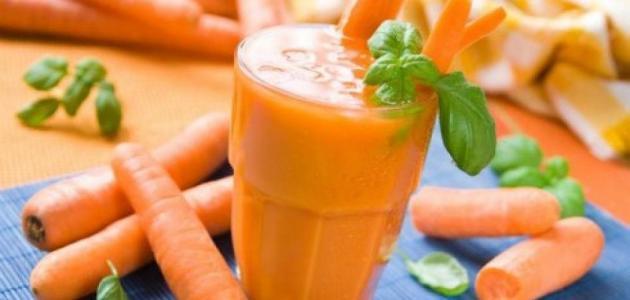 عصير الجزر لإنقاص الوزن
