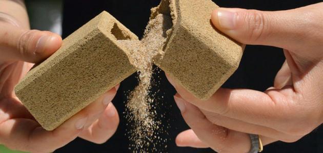 مكونات الرمل