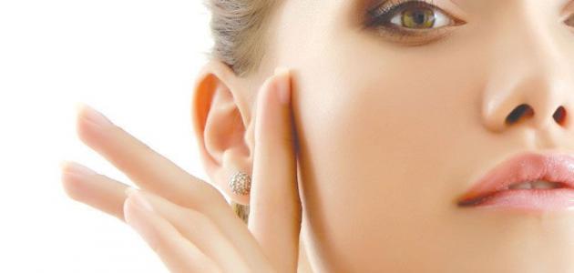 وسائل تبييض الوجه