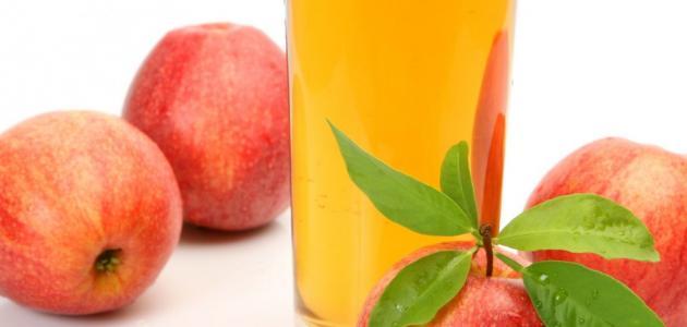كيف أعمل عصير التفاح