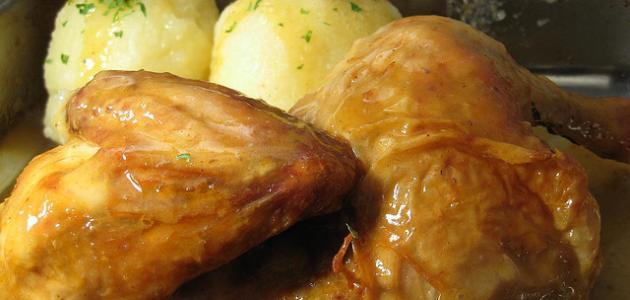 كيف اشوي الدجاج بالفرن