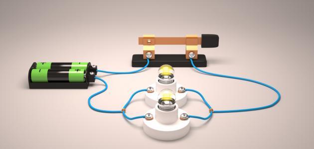 مكونات الدائرة الكهربائية