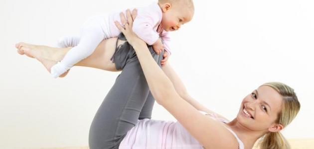 أسباب زيادة الوزن بعد الولادة