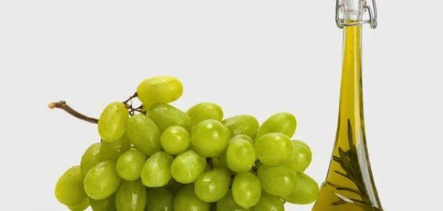 فوائد زيت العنب للبشرة
