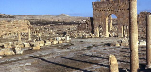 وصف موقع أثري في تونس