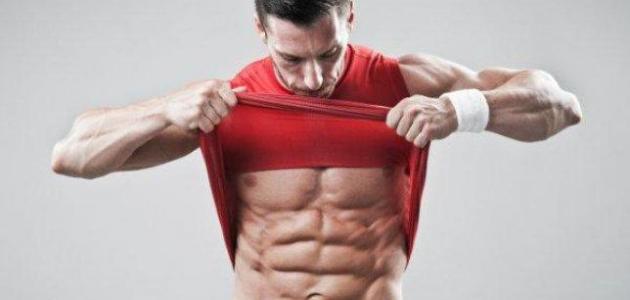 كيفية إبراز عضلات البطن