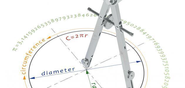 بحث رياضيات عن الدائرة