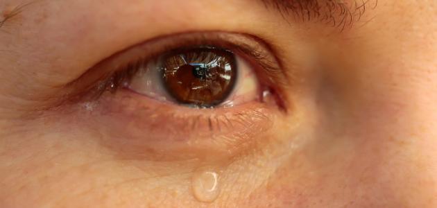 كيف تتكون الدموع