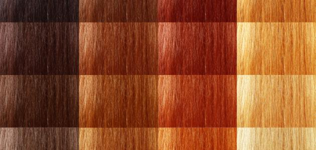 طريقة خلط صبغات الشعر