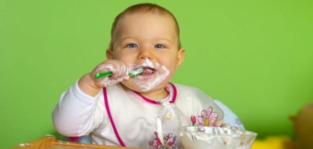 فوائد النشا للأطفال الرضع