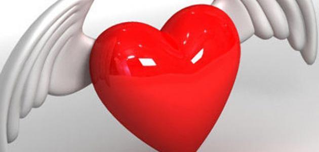 كلمات حب من القلب