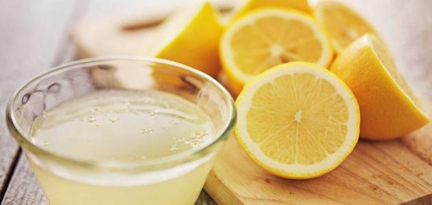 فوائد الليمون للوجه وحب الشباب