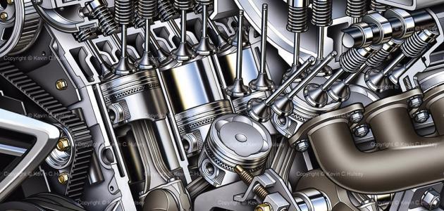 هندسة ميكانيك المركبات