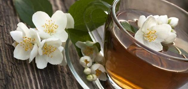 فوائد الشاي الأخضر بالياسمين