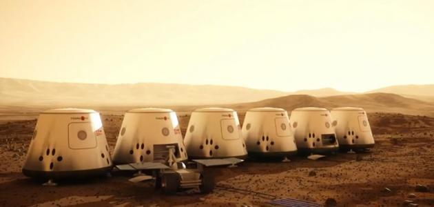 هل يوجد هواء في المريخ