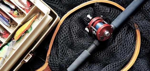 تعلم صيد السمك بالسنارة
