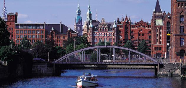 مدينة هامبورغ في ألمانيا